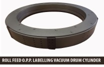 Labeler Vacuum Drum, Opp Labeler Vacuum Drum, Roll Feed Labeler Vacuum Drum