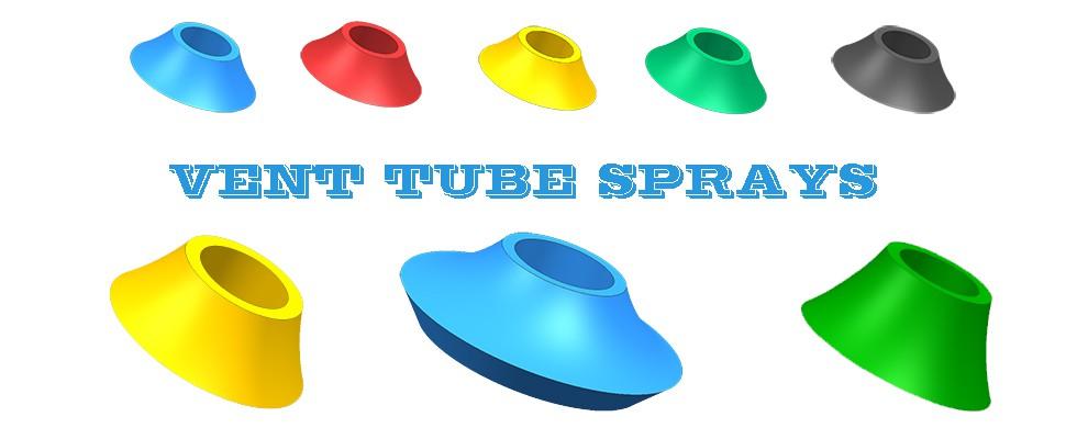 Filling Vent Tube Sprays, Vent Tube Umrella Rubber Seals