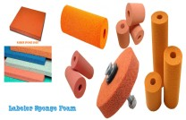 Labelling Sponge, Labeler Sponge Roller, Bottle Labelling Sponge