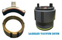 Labelling Machine Vacuum Drum, Labeler Vacuum Cylinder, Vakuum Zylinder