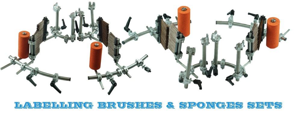 Labelling Brushes & Sponges Set