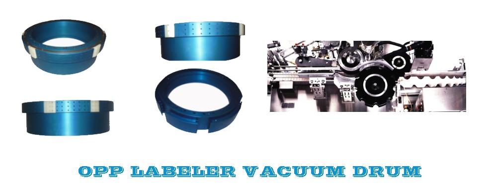 Labeler Vacuum Drum, Bottle Labelling Vacuum Drum