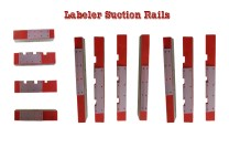 Labeler Suction Rails, Labeler Gripper Pads, Labelling Suction Rails