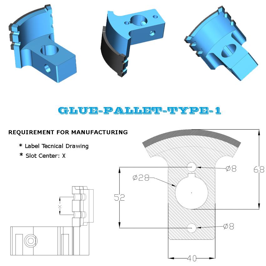 Glue Pallet Type 1
